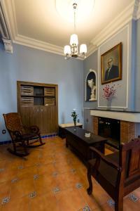 Zona de estar de Casa Las Martinas