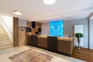The lobby or reception area at Stadthotel Borken