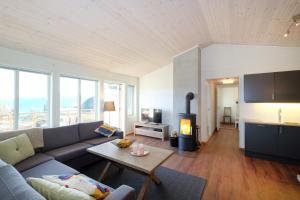 Et sittehjørne på Voss Resort Bavallstunet