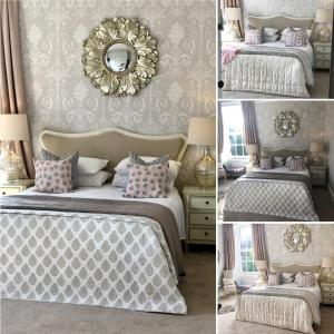 A bed or beds in a room at Abercorn Guest House
