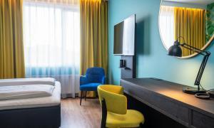 Et sittehjørne på Thon Hotel Alta