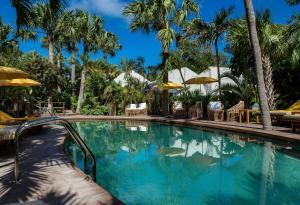The swimming pool at or near Hotel Villa Marie Saint Barth