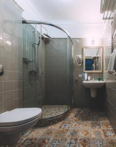Ванная комната в Отель Боровница