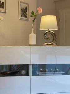 Ein Badezimmer in der Unterkunft Apartments und Zimmer Gästehaus Matthias