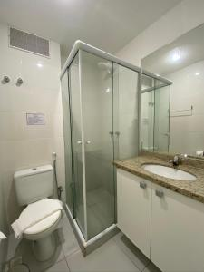 A bathroom at Apartamento Eco Ribeira