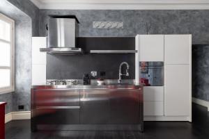 Cucina o angolo cottura di A Sparkle of Red in Trastevere