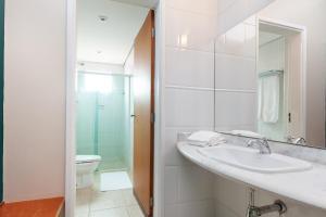 Um banheiro em Thermas Park Resort & Spa