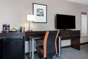A television and/or entertainment center at DoubleTree by Hilton Denver Cherry Creek, CO