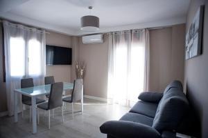 Zona de estar de Apartamento Jardines de Cuenca
