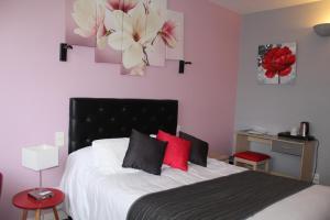 Un ou plusieurs lits dans un hébergement de l'établissement Hotel de L'Europe, La Roche-Posay