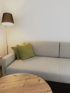 A seating area at ApartHotel Rose