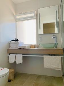 A bathroom at Apartaments Sa Torre