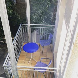 A balcony or terrace at Pension Belo Sono