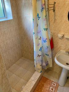 Ванная комната в Brievienchatyi Domik