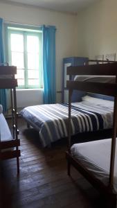 Un ou plusieurs lits superposés dans un hébergement de l'établissement Centre Familial de Vacances Les Sylvageois