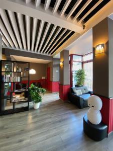 Hall ou réception de l'établissement Hotel La Luna