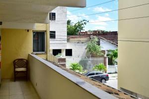 A balcony or terrace at Pousada do Turista