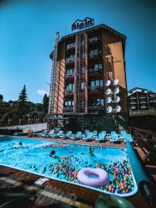 The swimming pool at or near Alpin Hotel