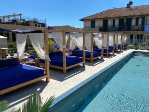The swimming pool at or near Hotel Blu di Te