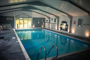 The swimming pool at or near Polmaily House