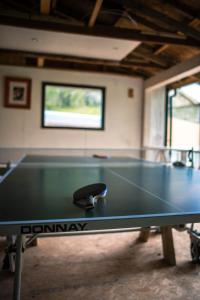 Ping-pong facilities at Polmaily House or nearby