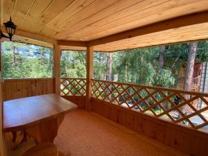 A balcony or terrace at Holiday House Aveliya