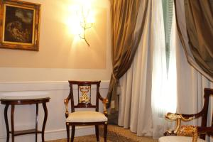A seating area at Boutique Hotel Trevi