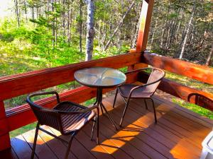 A balcony or terrace at Vipilodge