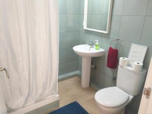 A bathroom at Apartamentos Rocamar el Medano