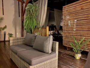Uma área de estar em Pousada Aquarela Do Brasil