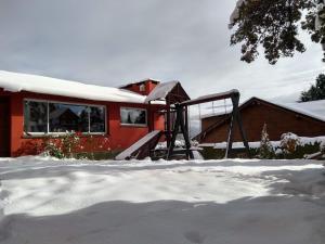 Solar de las Araucarias durante el invierno