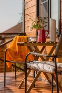 Балкон или терраса в Guest House Usadba
