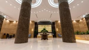 The lobby or reception area at Seven Garden Hotel