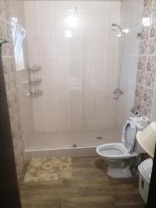A bathroom at Telia