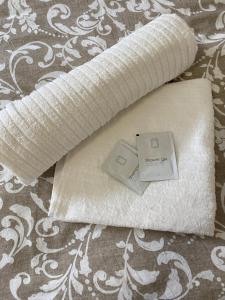 Postel nebo postele na pokoji v ubytování SATYS Apartments - Free Wifi and parking