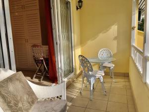 Coin salon dans l'établissement Residence Monte-Cristo