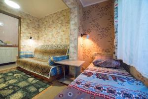 Кровать или кровати в номере Гостевой Дом «Светлана»