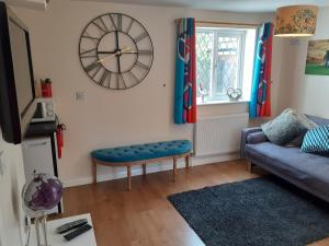 A seating area at Eastfield cottages