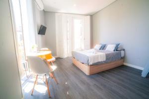 A seating area at Apartments Madrid Plaza Mayor-Tintoreros