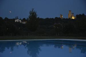 The swimming pool at or close to Agriturismo Gian Galeazzo Visconti