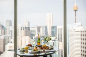 Breakfast options available to guests at Sofitel Sydney Darling Harbour
