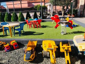Children's play area at Apartments Antonia