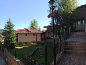 Children's play area at Rodopi Houses