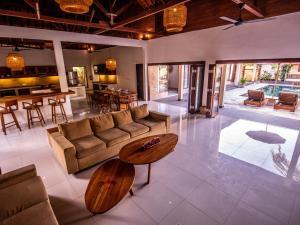 The lobby or reception area at Utara Villas