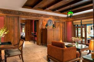 The lobby or reception area at The Davis Bangkok