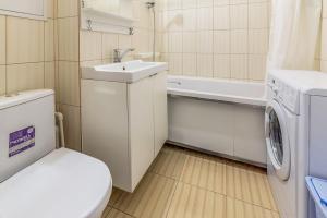 Ванная комната в Apartment Hanaka Jubileinyi 72