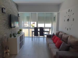 Zona de estar de Apartamento Primera Línea de Playa