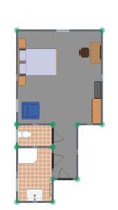 Grundriss der Unterkunft Landhotel Gafringwirt
