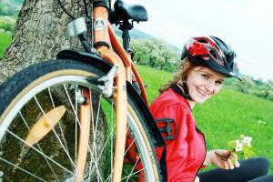 Radfahren an der Unterkunft Landhotel Gafringwirt oder in der Nähe