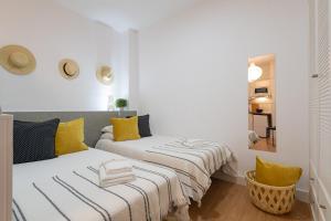 Cama o camas de una habitación en MFH Beach Apartments